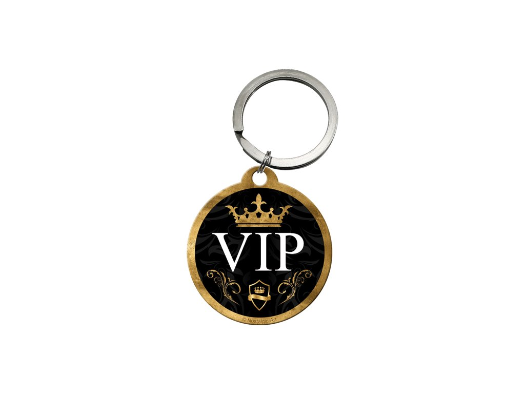 Klíčenka 4x4 cm VIP