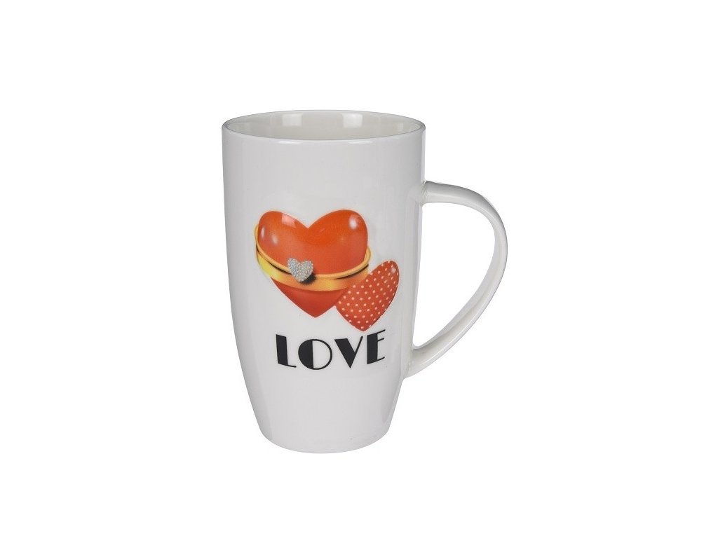 Hrnek porcelánový Love 400ml