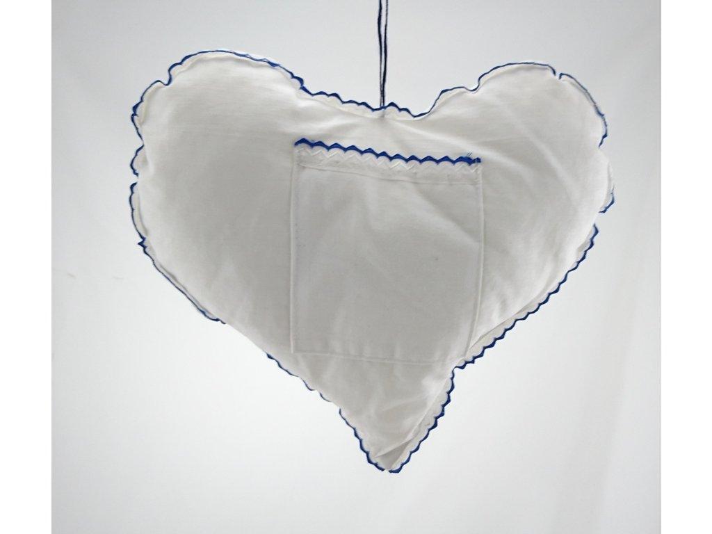 Srdce látkové
