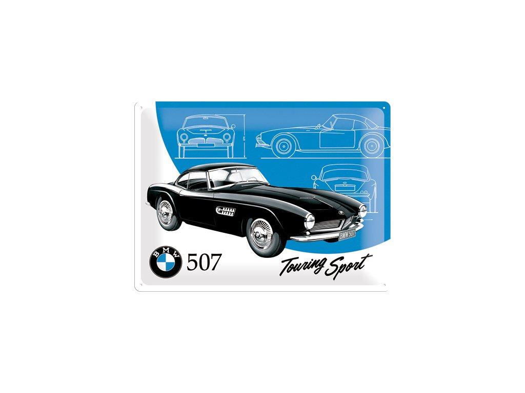 Plechová cedule BMW 507