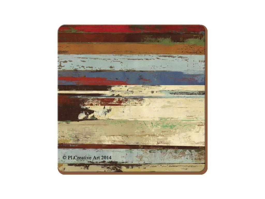 Korkové Prostírání Rustic Abstract