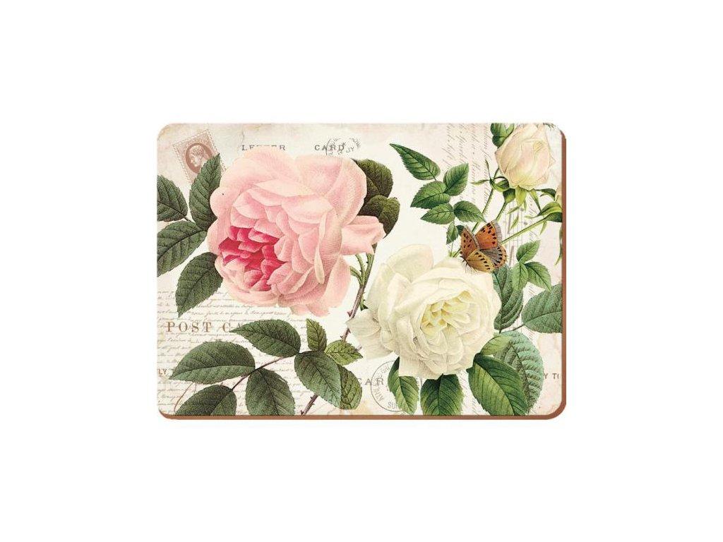 Korkové prostírání | Rose Garden