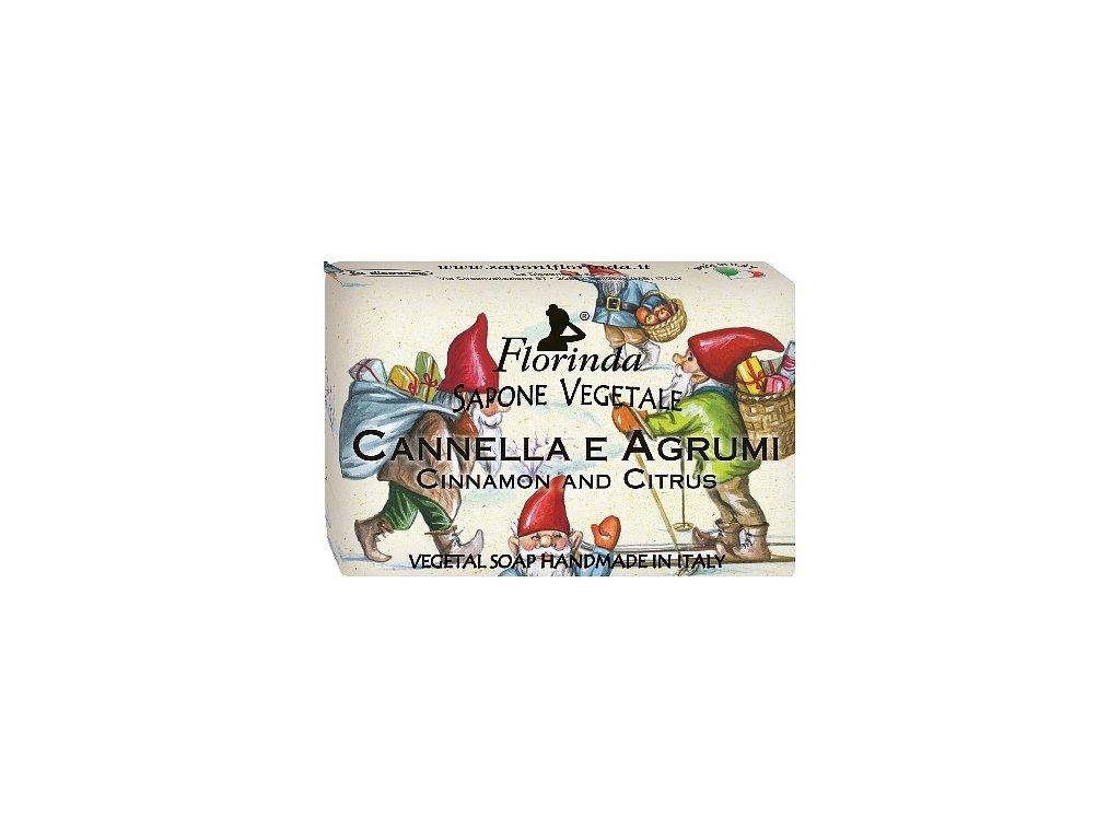 Mýdlo Natale Cannella E Agrumi 50g