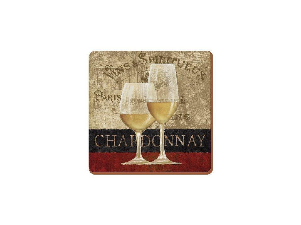 Korkové prostírání Chardonnay