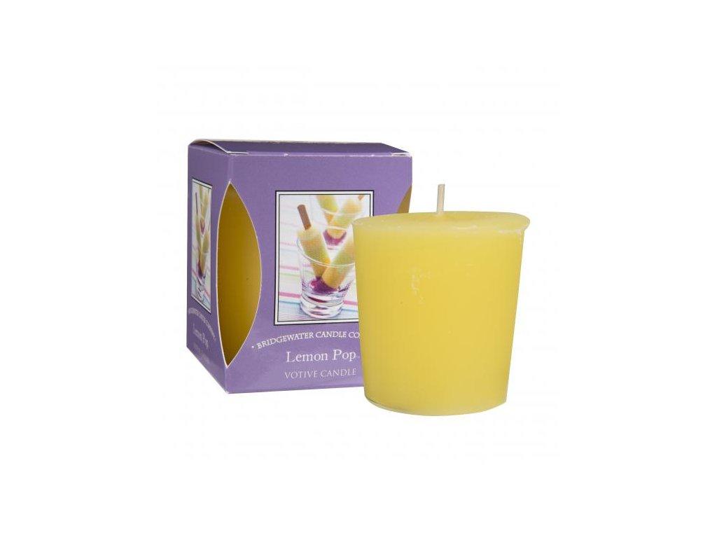 votivní svíčka | Lemon Pop | 5x5cm