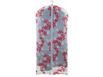 Ochranný obal na šaty s uzavíráním na zip s větvičkami