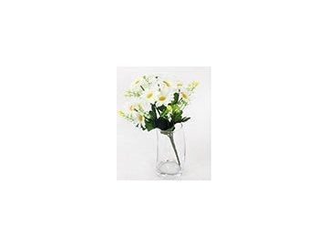Umělá květina kopretiny žlutá