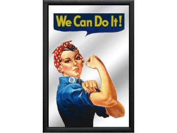 Zrcadlo We Can Do It 20x30cm