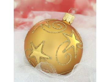 ST zlaté hvězdné spirály