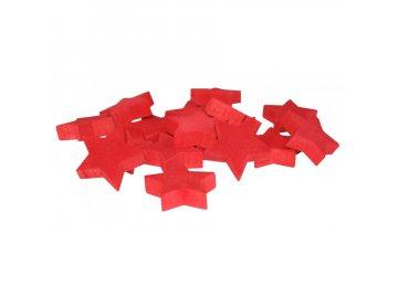 Dřevěné hvězdy   červené