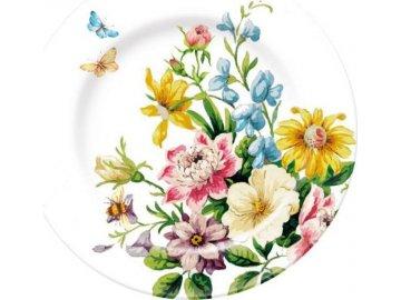 Dezertní porcelánový talíř English Garden