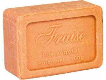 Francouzské vonné mýdlo Jahody