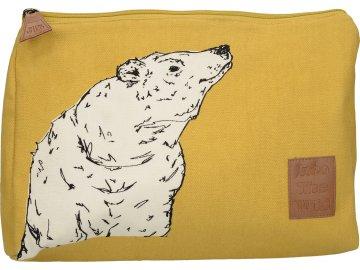 Kosmetická taška Into The Wild | medvěd