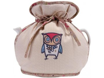 Textilní pokrývka na čajovou konev | Twitter | 26x23cm