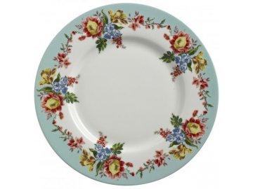 Obědový talíř | porcelánový | Amelia | 27x27cm
