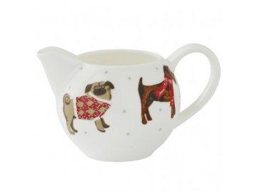 Porcelánová mléčenka | Hound Dog | 14x8cm