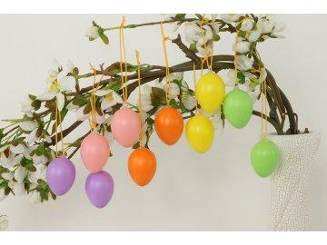Vajíčka velikonoční | plastová | balení 48 ks