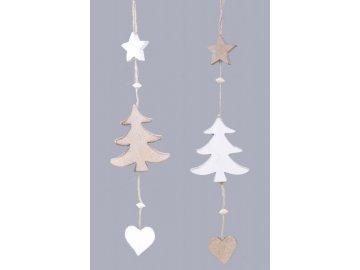 Vánoční girlanda|stromek|43cm