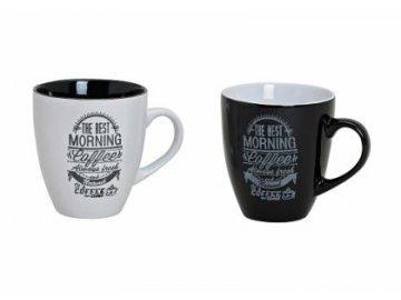 Hrnek Morning | keramika | 10cm | set 2ks