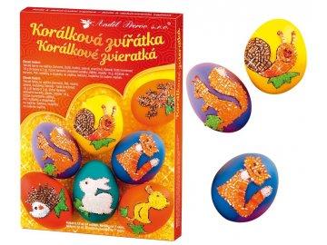 Sada k dekorování vajíček | korálková zvířátka