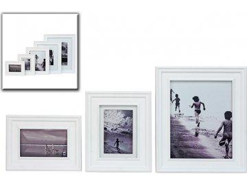 Fotorám | bílé dřevo