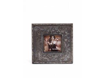 Fotorámeček | tmavý | zdobený | 15x15cm