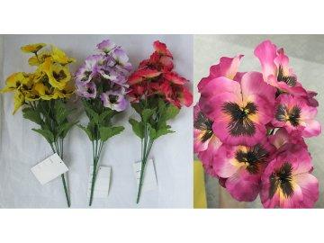 Umělá květina | maceška