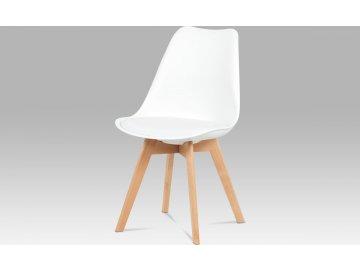 Jídelní židle| plast | koženka | masiv | 4 barvy
