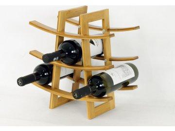 Stojan na víno| bambus