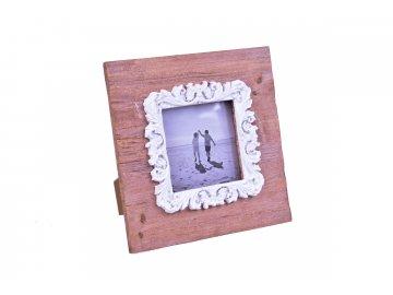 Fotorámeček | s ornamentem | 19x19x2cm