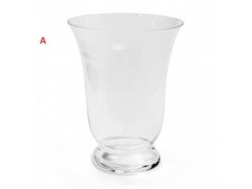 Váza Huricane   čiré sklo