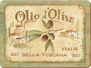 Korkové prostírání Olio D´Oliva velké