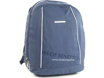 Batoh Benetton | modrý | 43x29x22,5cm