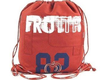 Sportovní vak Frutta | Frutta 82 | červená |42,5x36,5cm