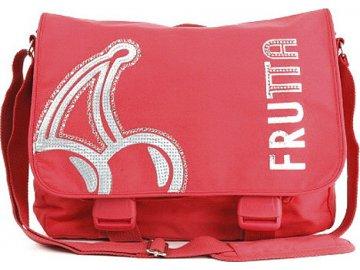 Taška přes rameno | Frutta | růžová | 38x26x11cm