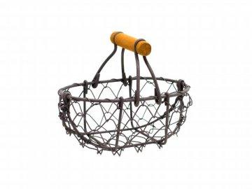 Košík drátěný Antik