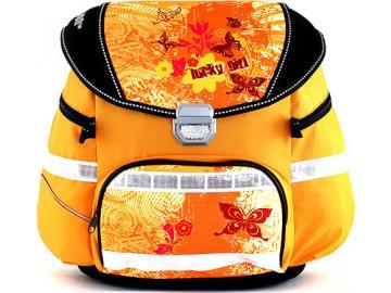 Školní batoh Leasyn   Lucky Girl motýlci
