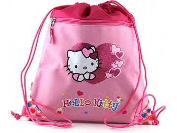 Sportovní vak | Hello Kitty | růžový