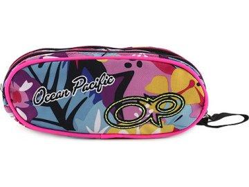 Školní penál   dvoukomorový   barevný potisk   Ocean Pacific