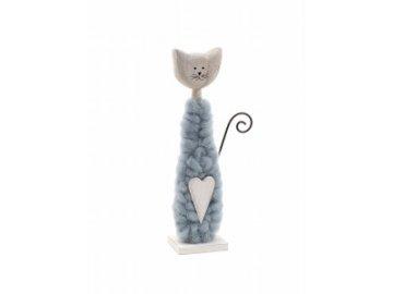kočka vlněná menší