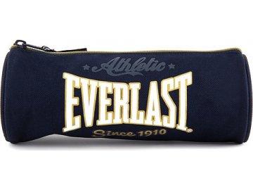 Školní penál | Everlast | kulatý | tmavě modrý