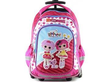 Školní batoh | trolley | Lalaloopsy | Textilní nášivka