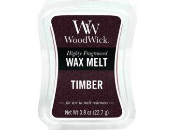 WoodWick vonný vosk Dřevo | Sada 6ks