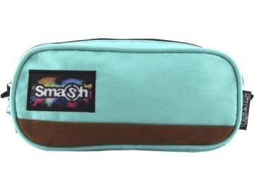 Školní penál | bez náplně | Smash | mentolový | 2 kapsy