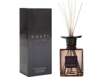Aroma difuzér | Culti Decor | Bílé květy | 1000ml