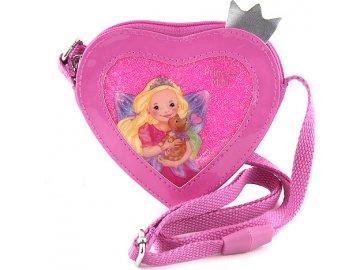 Kabelka | My Style Princess | Růžová | ve tvaru srdce