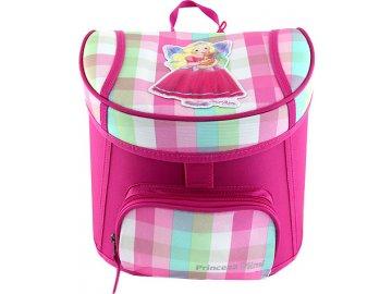 Mini batůžek | My Style Princess | Růžový | pastelové kostky | Princess Mimi a Lou