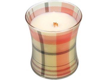 WoodWick svíčka  oválná váza  perník   275g