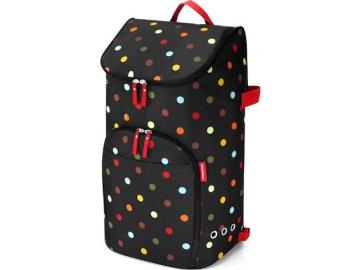 Nákupní batoh | Reisenthel | Citycruiser | černý s barevnými puntíky