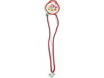 Náhrdelník | Trixibelles | s přívěškem | červená